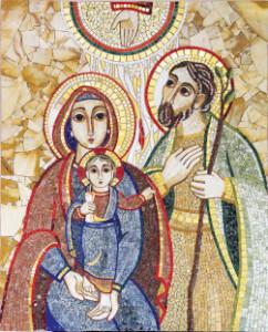 Sacra Famiglia - p.M.Rupnik